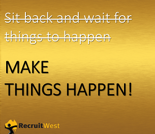 How To Make Things Happen!